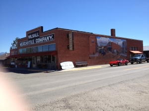 Now: Wilsall Mercantile Company, Wilsall, MT, 2013 (Author photo)