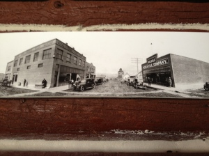 Back then: Clyde M. Lyon's Wilsall Mercantile Company, Wilsall, MT, 1921 (Building on the right.) (Wilsall Museum)